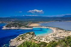Voidokilia Bay formed by the Lagoon of Gialova and Mediterranian Sea, Messinia, Greece ✯ ωнιмѕу ѕαη∂у Travel Around The World, Around The Worlds, Natural Life, Greece Travel, Van Life, Beautiful Beaches, Us Travel, Strand, Places To See