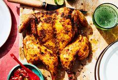 Balinese Grilled Chicken Grilled Chicken Tacos, Cilantro Chicken, Grilled Chicken Thighs, Grilled Chicken Recipes, Marinated Chicken, Red Curry Chicken, Coconut Curry Chicken, Chicken Shashlik, Tandoori Chicken