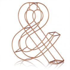 Copper Alphabet Letter | New | Oliver Bonas