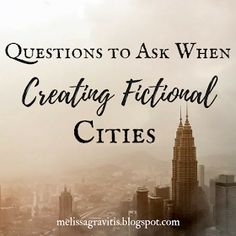 Quill Pen Writer: Questions to Ask When Creating Fictional Cities // read later Creative Writing Tips, Book Writing Tips, Writing Process, Writing Quotes, Writing Resources, Writing Help, Writing Skills, Writing Workshop, Writer Tips