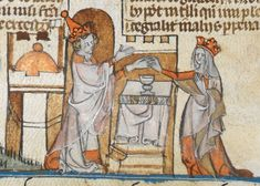A few weeks ago I was looking through the manuscript Royal MS 10 E IV where I found a few depictions of Pope Leo having his hand chopped off. After some sleuthing, I discovered that these images were illustrations from a story in The Golden Legend. (More details about that text can be found here.) While Royal MS 10 E IV actually contains The Decretals of Gregory IX (AKA the Smithfield Decretals), I was still rather curious about the context regarding Pope Leo's hand.