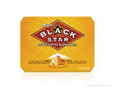 Black Star packaging. Designed by Turner Duckworth.