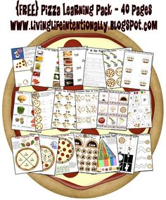 Great pizza printables!