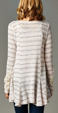 Leanna Cardigan in Ivory