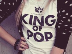 Wearing T-shirts with Michael and feeling like you're no.1 fan :3 <3