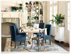 Talia Dining Room  I  ballarddesigns.com