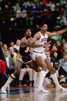 julius erving vs magic - Google Search