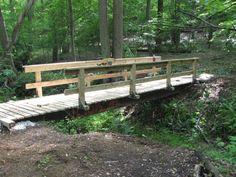 Idea for bridge spanning pond/creek