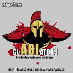 #Abschlusslogo für #Abishirt  #Abizeitung #Abibuch & Co: GlABIators