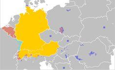 Where is the German language spoken?