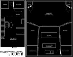 Recording Studio Design Floor Plans