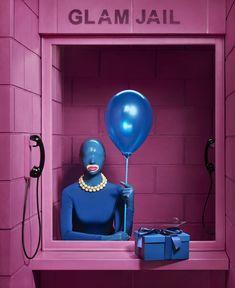 ©Pol Kurucz – Glam Jail please do not delete the name of the photographer, model or artist Arte Grunge, Art Photography, Fashion Photography, Arte Obscura, Photo Portrait, Arte Pop, Art Graphique, Fashion Story, Pink Aesthetic