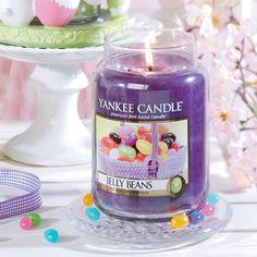 Yankee Candle – vonná svíčka Jelly Beans, velká