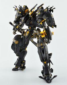 Custom Build: MG 1/100 Gundam Astray Night Frame - Gundam Kits Collection News and Reviews