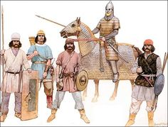 sassanid infantry - Google Search