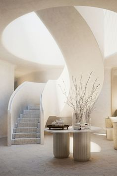 Discover Janu - The Story & Philosophy of Janu Hotels Decoration Design, Deco Design, Architecture Design, Interior And Exterior, Interior Design, Design Interiors, Slow Living, Staircase Design, Stairways