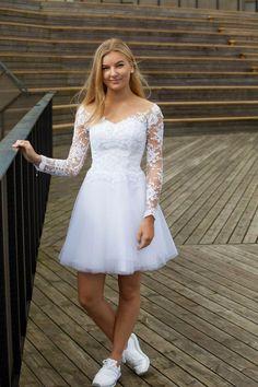 Billedresultat for konfirmationskjoler Tulle Prom Dress, Homecoming Dresses, Party Dress, Cute Dresses, Short Dresses, Formal Dresses, Wedding Dresses, Quinceanera Dresses, Mode Inspiration