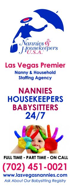 Serving families at homes and hotels in Las Vegas.