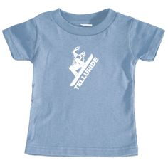 Telluride, Colorado Snowboarding - Infant T-Shirt