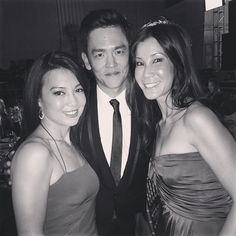 Ming-Na hanging with & finally meeting the lovely Lisa Ling, John Cho, Melinda May, Ming Na Wen, Marvels Agents Of Shield, Live Action, Beautiful Actresses, It Cast, Fandoms