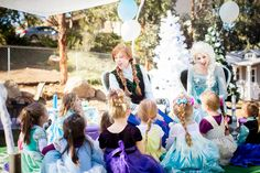Our Ice queen and Snow Princess are perfect for your next Frozen-Theme Party Productions | Royal Entertainers