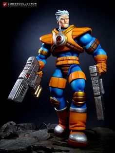 Loosecollector Custom Action Figures Official Website: Cable (Humberto Ramos style)