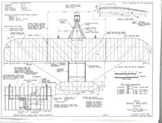 The Wright Brothers 1903 Flyer is one of the model airplane plans available for download and printing.