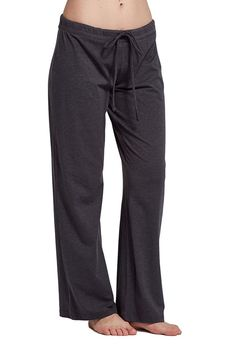 CYZ Womens casual stretch cotton pajama pants simple lounge pants charcoal Check more at Loungewear Set, Sleepwear Women, Lounge Pants, Lounge Wear, Pajama Bottoms, Pajama Pants, Cotton Pyjamas, Pajamas, Yoga Pants Girls