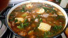 veggie and italian turkey sausage soup