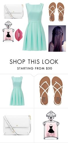 """""""Church"""" by annarose1224 ❤ liked on Polyvore featuring Kate Spade, Billabong, Tory Burch and Lime Crime"""