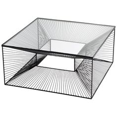 Glass Top Coffee Table, Coffee Table With Storage, Coffee Tables, Leather Cocktail Ottoman, Modern Home Furniture, Table Furniture, Coffee Table Wayfair, Fine Linens, Small Boxes