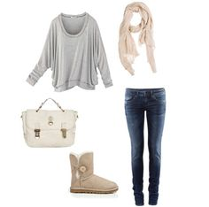 fall/winter comfy outfit