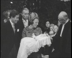 książę Niderlandów Claus i królowa Niderlandów Beatrix z synem księciem Niderlandów Johanem-Friso [chrzciny]