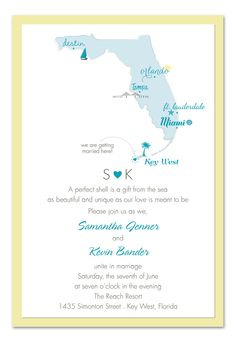 'we are getting married here' invites - choose your wedding destination anywhere in the world!
