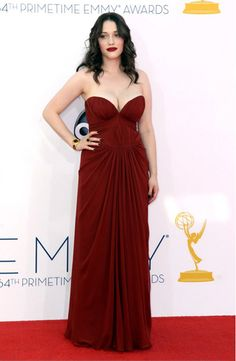 Kat Dennings for The Emmys  Makeup by Beau Nelson  (Please Keep Credits Intact)