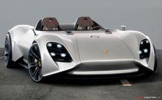 Porsche concept by Nicolas Dengel