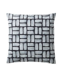 Painted Basketweave Pillow Cover | Serena and Lily