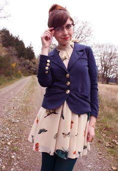 #theclotheshorse in #eightsixty navy blazer
