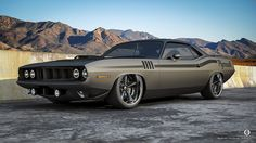 1970 Plymouth Barracuda Pro-Touring by 1GrandPooBah, via Flickr
