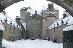 """Previous pinner: Castle Fraser in Scotland -- SH: Click-through has a number of other photos of this castle which is """"the largest and most elaborate of Scottish castles built on the Z-plan design."""""""
