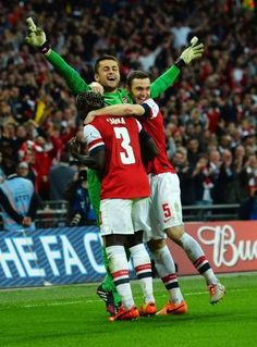 Wigan Athletic 1 Arsenal 1 (Arsenal win 4-2 on Pens) - Man of the Match!