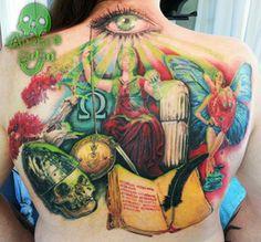 By Adam Megens - Adams Eden Tattoos, Edenvale, South Africa Body Piercing, Piercings, South Africa, Watercolor Tattoo, Tattoos, Peircings, Piercing, Tatuajes, Tattoo