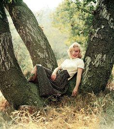 Marilyn Monroe, por Milton Greene, 1953
