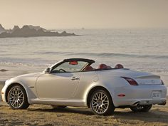 I LOVE this gorgeous hardtop convertible Lexus...this would make me much better!