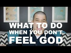 What to do when you don't feel God | Christian Youth Videos, Animations & Short Films