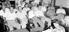 "Emmett Till Murder Trial: Selected Testimony, this is the jury in the murder trial for the murderer's of Emmett Till - the two men had said that Emmett was ""defiant"" ..."