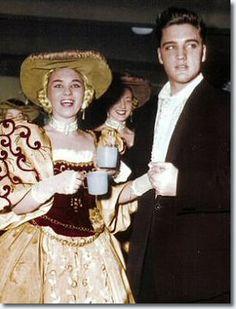 Elvis Presley in Frankfurt, Germany on December 26, 1958