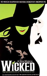 """Art and Dramatic Productions"" I chose, Wicked the Musical for this category. Wicked is the storyline of the Witches of Oz but in the form of a musical. I have experienced this musical. Teatro Musical, Musical Theatre, Wicked Theatre, Cats Musical, Arts Theatre, Broadway Plays, Broadway Shows, Broadway Wicked, Musicals Broadway"