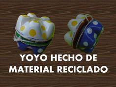 Manualidades -  Como hacer yoyo con botellas recicladas - RECICLAJE
