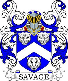 Savage Coat of Arms